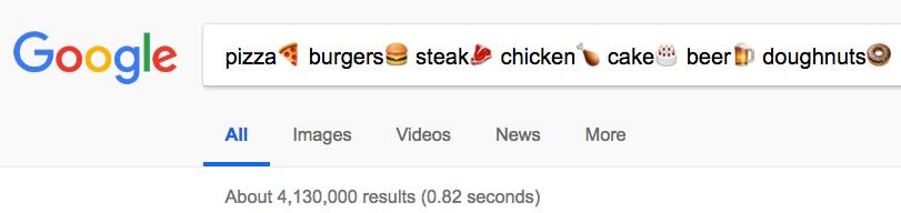 emoji search Google